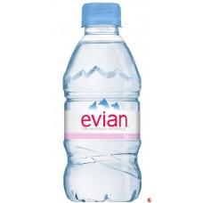 Evian 0, 33 л пластик