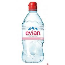Evian 0, 75 л пластик