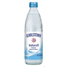 Gerolsteiner Naturell 0.33 л стекло